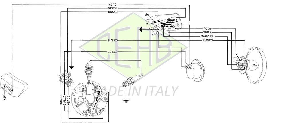 Schema Elettrico Lambretta J50 : Consigli sul restauro